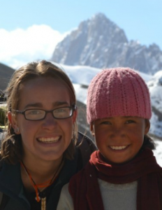 Taylor Knoop and Ladakhi Friend.  From WorldYato website.