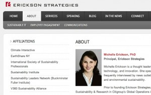 Erickson Strategies Website