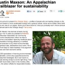 Justin Maxson Featured in Grist Magazine, December 2011