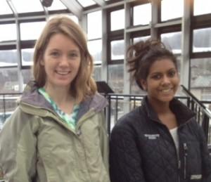 TSA Field Trip, Living Machine, Katie and Raji, cropped