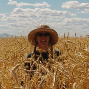 Anna in rye field