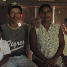 "Coffee farming family, Central America.  From video ""After the Harvest,"" produced by Green Mountain Coffee Roasters."