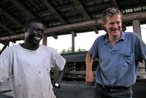 Mory Thiaw of Senegal has been working with Carl since 1991.