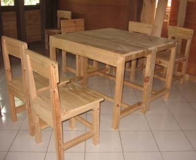 Furniture from Second-hand Wood