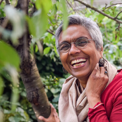 headshot of Nirmala Nair